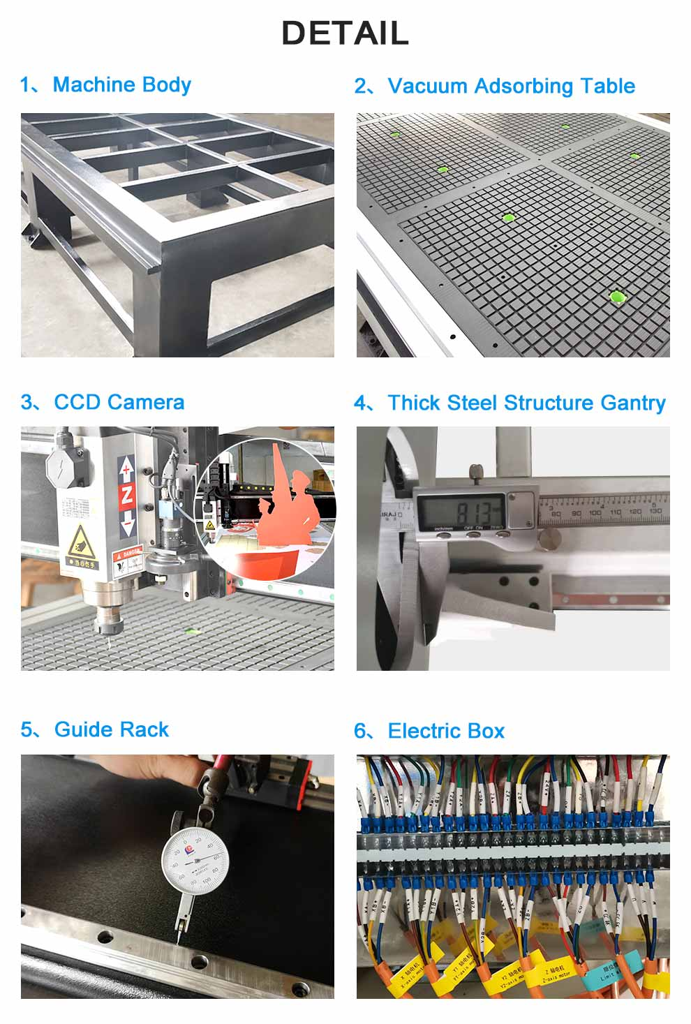 CNC Foam Contour Cutting Machine with CCD Camera