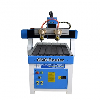 6090 Double Head Cnc Woodworking Cutting Machine